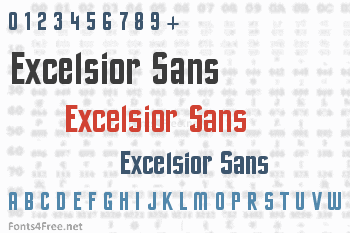 Excelsior Sans Font