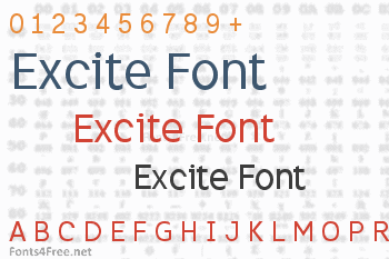 Excite Font