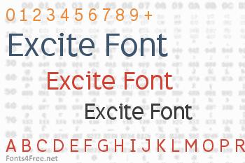 Excite Font