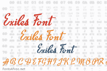 Exiles Font