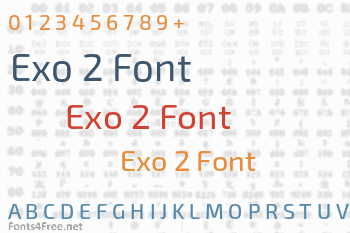 Exo 2 Font