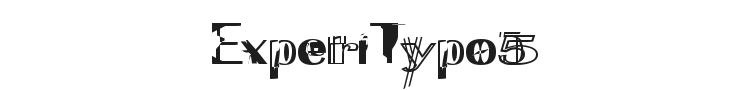ExperiTypo5 Font