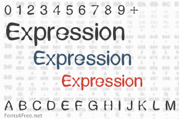 Expression Font