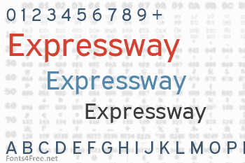 Expressway Font