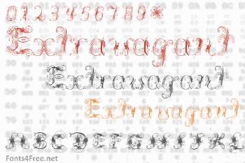 Extravagant Pete Font