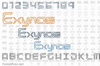 Exynos Font