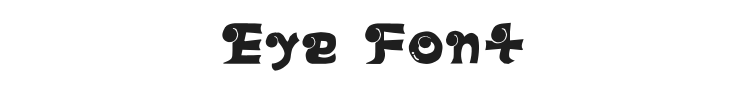 Eye Font Preview