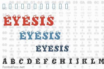 Eyesis Font