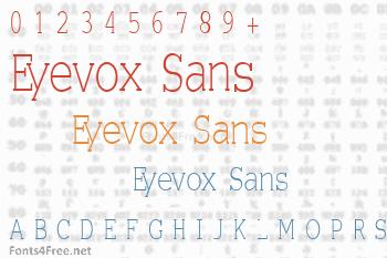 Eyevox Sans Font