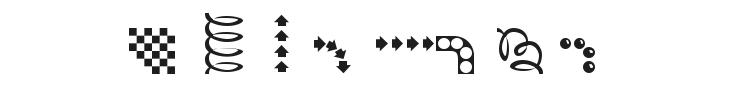 EZBorder Font Preview