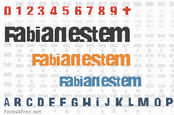 Fabianestem Font