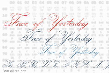 Face of Yesterday Font