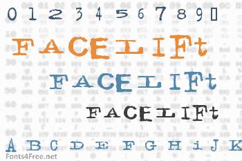 Facelift Font