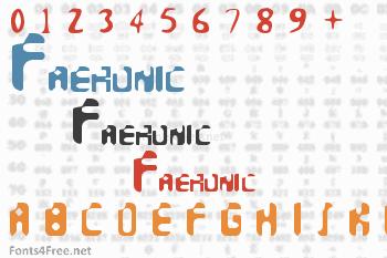 Faeronic Font