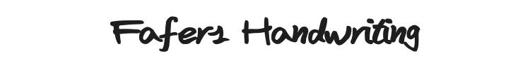 Fafers Handwriting