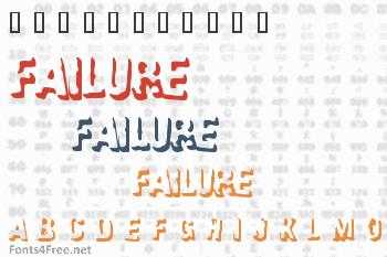 Failure Font