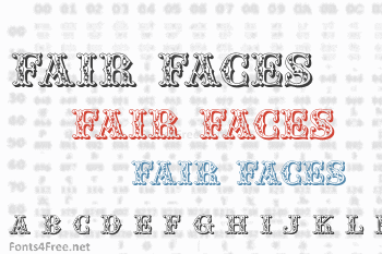 Fair Faces Font
