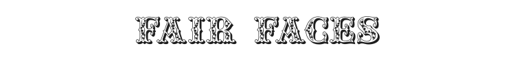 Fair Faces Font Preview