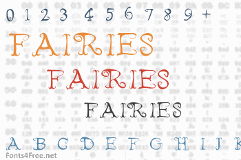 Fairies Wear Boots Font