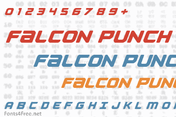 Falcon Punch Font