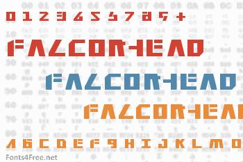 Falconhead Font