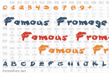 Famous Fromage Font