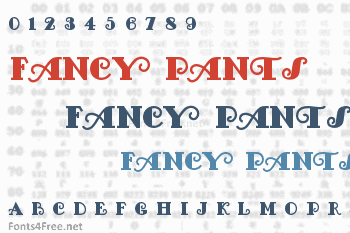 Fancy Pants Font