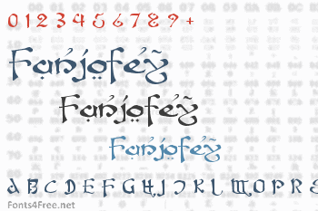 Fanjofey Font
