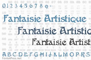 Fantaisie Artistique Font