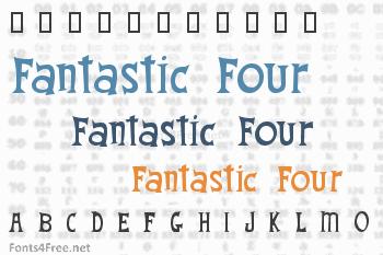Fantastic Four Font