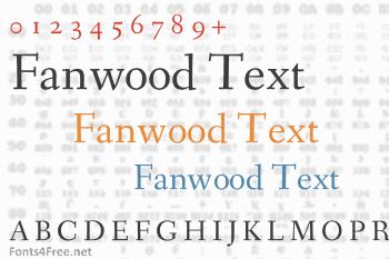 Fanwood Text Font