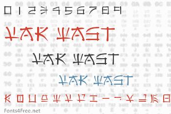 Far East Font