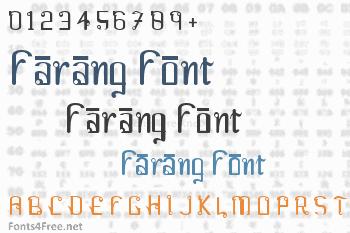Farang Font