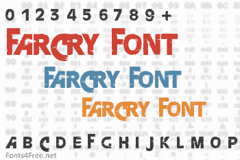 Farcry Font Download Fonts4free