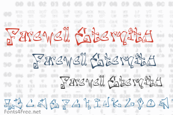 Farewell Eternity Font