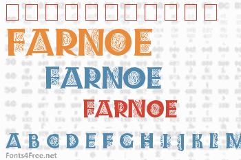 Farnoe Initials Font