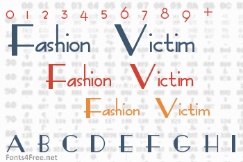 Fashion Victim Font