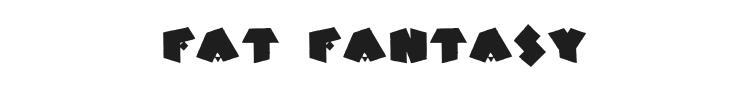 Fat Fantasy Font Preview