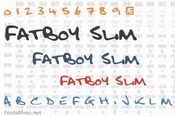 Fatboy Slim Font
