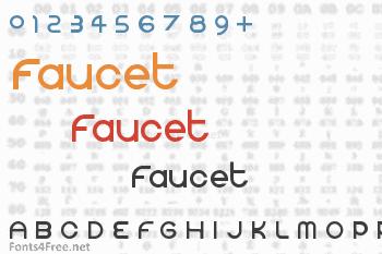 Faucet Font