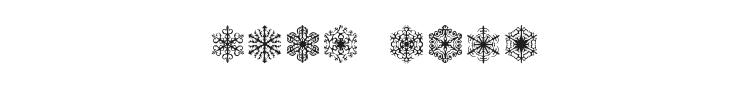 Faux Snow Font