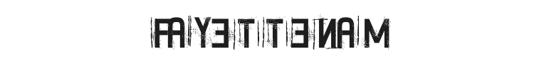 Fayettenam Font