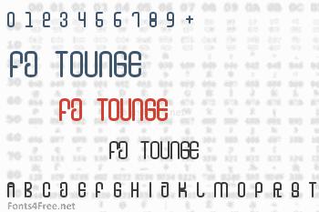 FD Tounge Font