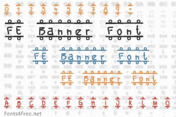 FE Banner Font