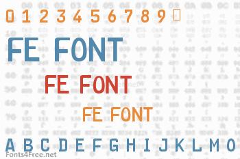 FE Font