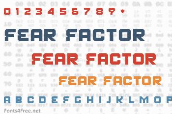 Fear Factor Font