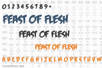 Feast of Flesh Font