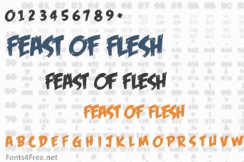 Feast of Flesh Font