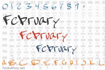 February Font