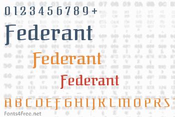 Federant Font